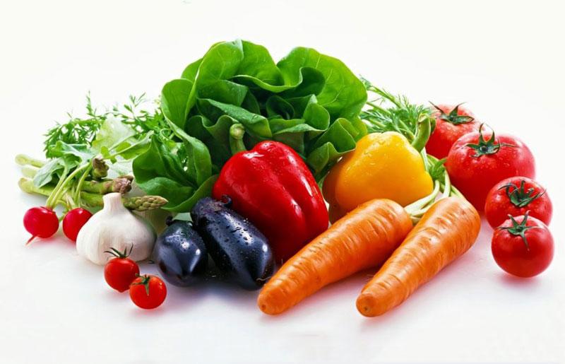 Rau củ quả giúp cơ thể được thanh lọc