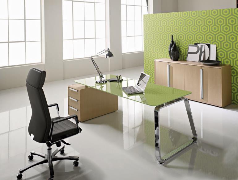 Image result for bàn làm việc cong