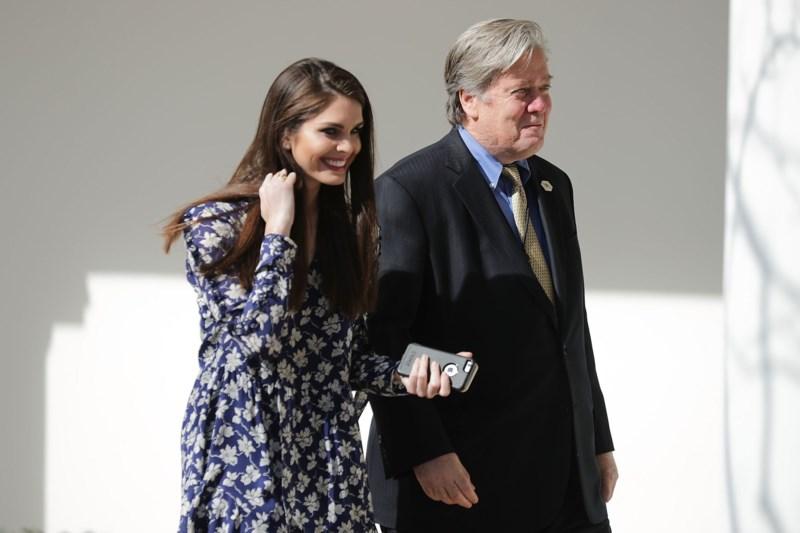 Cô Hicks là một trong số 22 nhân viên Nhà Trắng được trả lương cao nhất. Ảnh: GETTY IMAGES.