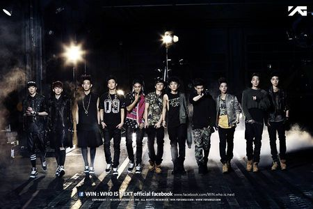 "Toan bo "" WIN "" se debut - Anh 1"