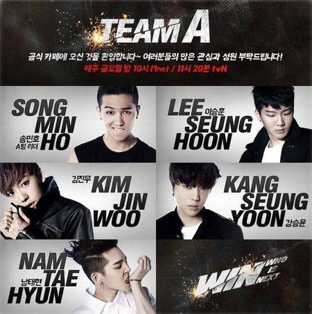 "Toan bo "" WIN "" se debut - Anh 2"