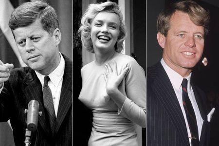 Clip sex cua Marilyn Monroe va anh em nha Kennedy duoc dau gia - Anh 1