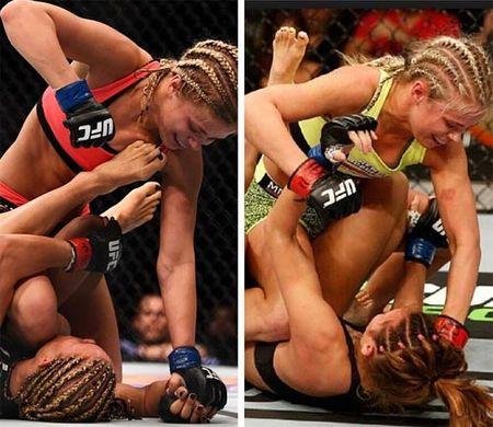 Ngat ngay voi nu vo si UFC dep tua Ronda Rousey - Anh 6
