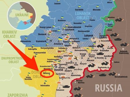 Ukraine bat giu si quan quan doi Nga - Anh 2