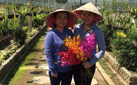 Nu ty phu xinh dep voi vuon lan Huyen Thoai - Anh 2