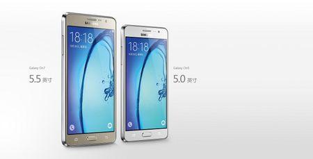 Samsung trinh lang bo doi gia re Galaxy On5 va On7 - Anh 1