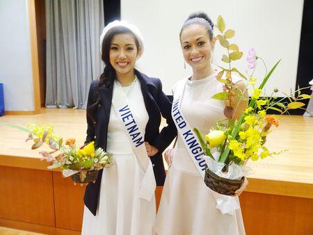 Thuy Van bat khoc khi hoc mua Sakura tai Hoa hau Quoc te 2015 - Anh 4