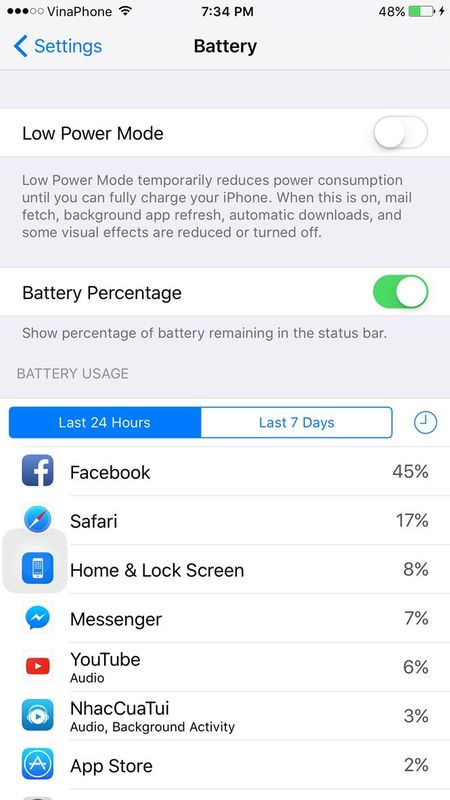 Facebook cho iPhone duoc cap nhat sua loi hao pin - Anh 1