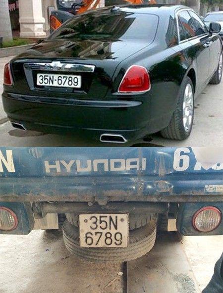 Rolls-Royce 17 ty deo bien gia 35N- 6789 - Anh 1