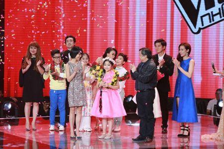 """Cong chua toc may"""" Hong Minh dang quang The Voice Kids 2015 - Anh 11"""