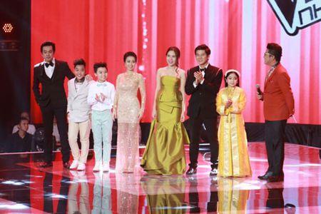 """Cong chua toc may"""" Hong Minh dang quang The Voice Kids 2015 - Anh 1"""