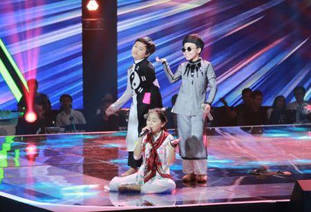 """Cong chua toc may"""" Hong Minh dang quang The Voice Kids 2015 - Anh 6"""