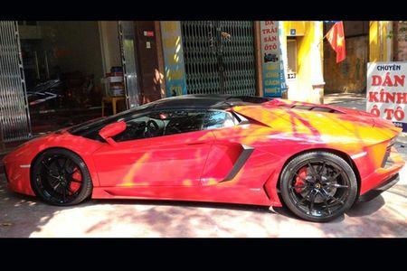 Lamborghini mui tran 24,5 ty lan banh tren pho Viet - Anh 6