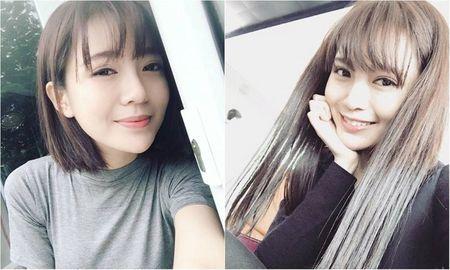 Hot girl fan MU Tu Linh khac la voi mai toc dai - Anh 1