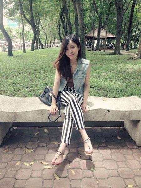 Hot girl fan MU Tu Linh khac la voi mai toc dai - Anh 8