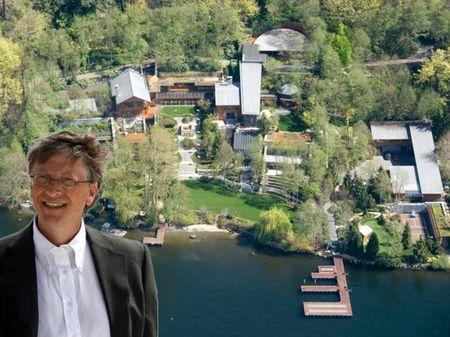 Su that khong the tin noi ve biet thu ty phu Bill Gates - Anh 1