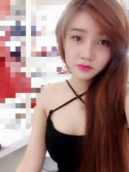 Say nang ve xinh xan cua hot girl ban chao, rua bat - Anh 4