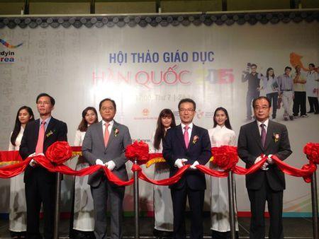 Khai mac trien lam du hoc Han Quoc-Viet Nam 2015 - Anh 1