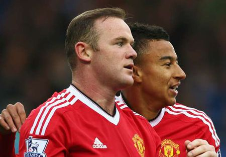"""Rooney """"yeu"""" derby Manchester - Anh 1"""