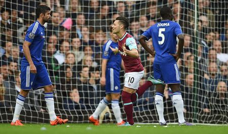 Thua dau tren san West Ham, Chelsea bi day xuong nhom cuoi bang - Anh 6