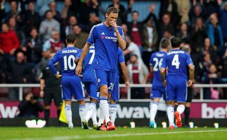 Thua dau tren san West Ham, Chelsea bi day xuong nhom cuoi bang - Anh 2