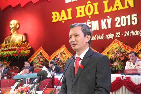 Ong Le Truong Luu tai dac cu Bi thu tinh uy Thua Thien - Hue - Anh 1