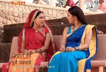 Co dau 8 tuoi phan 5 tap 6: Shivani biet Anandi khong nhu loi Gauri noi - Anh 4