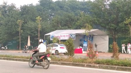 "Co hay khong viec Honda My Dinh ""chiem dung duong"" de to chuc chuong trinh? - Anh 1"