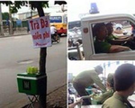 Duong pho Ha Noi the nao sau mot thang cong an tuan tra bang xe dap? - Anh 4