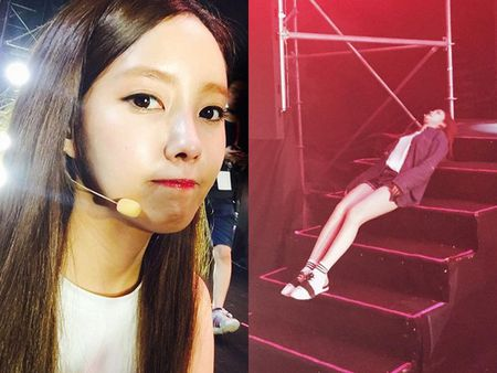 Sao Han 24/10: My nam 'She was pretty' khoe hanh tay kute, Jessica nhu 'gai que' - Anh 4