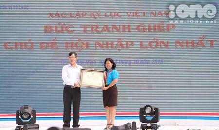 400 sinh vien xep tranh ASEAN hoi nhap xac lap ky luc Viet Nam - Anh 10