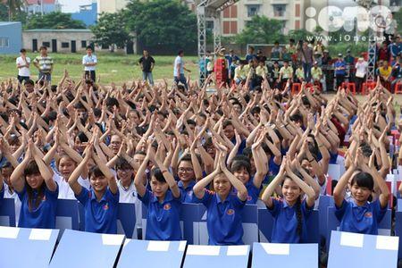 400 sinh vien xep tranh ASEAN hoi nhap xac lap ky luc Viet Nam - Anh 4