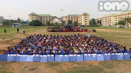 400 sinh vien xep tranh ASEAN hoi nhap xac lap ky luc Viet Nam - Anh 5