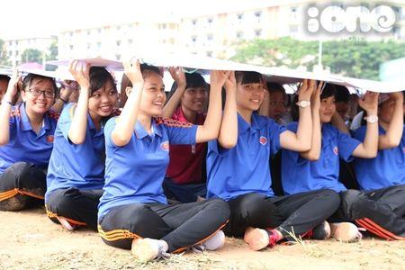 400 sinh vien xep tranh ASEAN hoi nhap xac lap ky luc Viet Nam - Anh 8