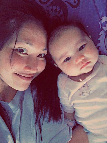 Kim Hien mung sinh nhat chong day ngot ngao - Anh 4