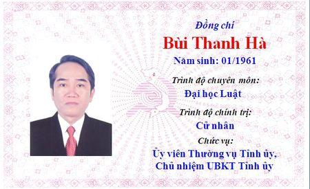 Ong Le Truong Luu lam Bi thu Tinh uy Thua Thien Hue khoa 15 - Anh 11