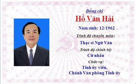 Ong Le Truong Luu lam Bi thu Tinh uy Thua Thien Hue khoa 15 - Anh 12