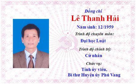 Ong Le Truong Luu lam Bi thu Tinh uy Thua Thien Hue khoa 15 - Anh 13