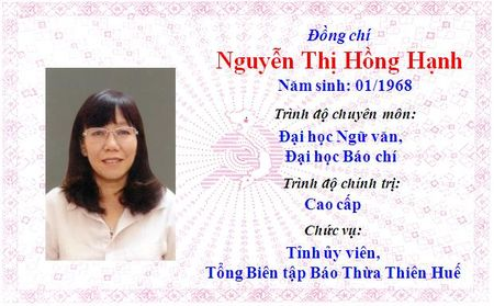 Ong Le Truong Luu lam Bi thu Tinh uy Thua Thien Hue khoa 15 - Anh 14