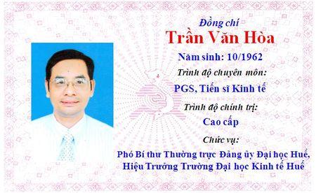 Ong Le Truong Luu lam Bi thu Tinh uy Thua Thien Hue khoa 15 - Anh 16