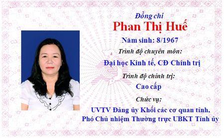 Ong Le Truong Luu lam Bi thu Tinh uy Thua Thien Hue khoa 15 - Anh 17