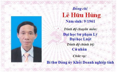 Ong Le Truong Luu lam Bi thu Tinh uy Thua Thien Hue khoa 15 - Anh 19