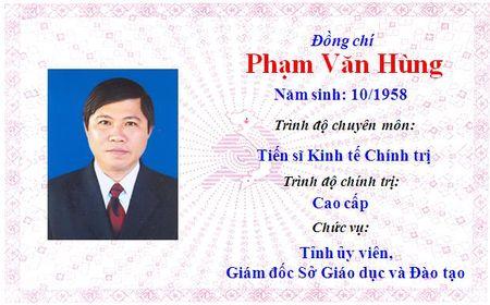 Ong Le Truong Luu lam Bi thu Tinh uy Thua Thien Hue khoa 15 - Anh 22