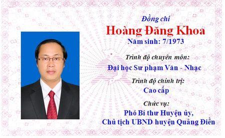 Ong Le Truong Luu lam Bi thu Tinh uy Thua Thien Hue khoa 15 - Anh 27