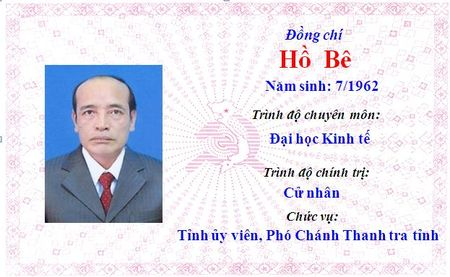 Ong Le Truong Luu lam Bi thu Tinh uy Thua Thien Hue khoa 15 - Anh 2