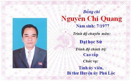Ong Le Truong Luu lam Bi thu Tinh uy Thua Thien Hue khoa 15 - Anh 33