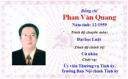 Ong Le Truong Luu lam Bi thu Tinh uy Thua Thien Hue khoa 15 - Anh 35