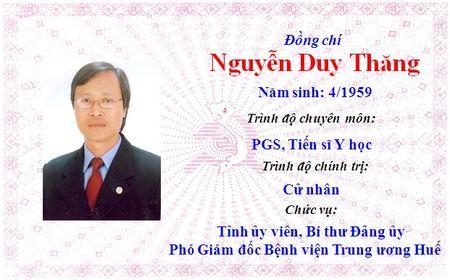 Ong Le Truong Luu lam Bi thu Tinh uy Thua Thien Hue khoa 15 - Anh 41