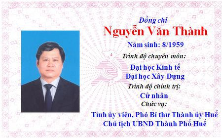 Ong Le Truong Luu lam Bi thu Tinh uy Thua Thien Hue khoa 15 - Anh 43