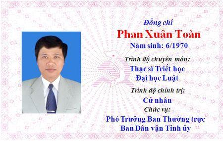 Ong Le Truong Luu lam Bi thu Tinh uy Thua Thien Hue khoa 15 - Anh 48